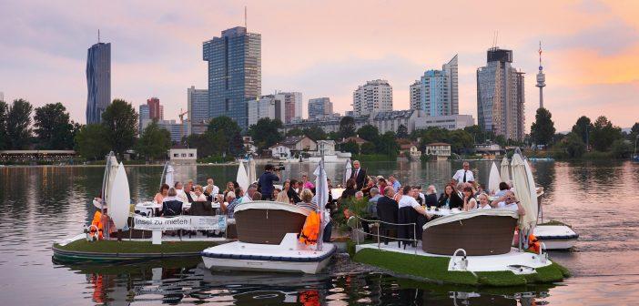 Sommer Ahoi auf der alten Donau