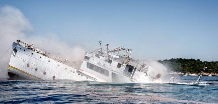 Tito-Schiff in Istrien abgesoffen